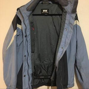 HELLY HANSEN JACKET - Size Medium - Blue